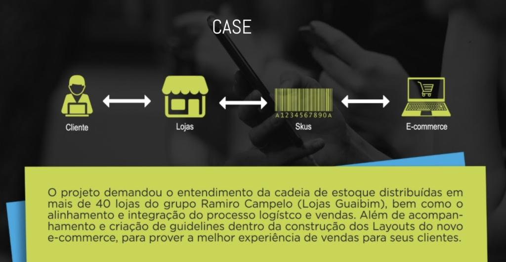 Transformação Digital no E-commerce para o Grupo Ramiro Campelo, Guaibim.